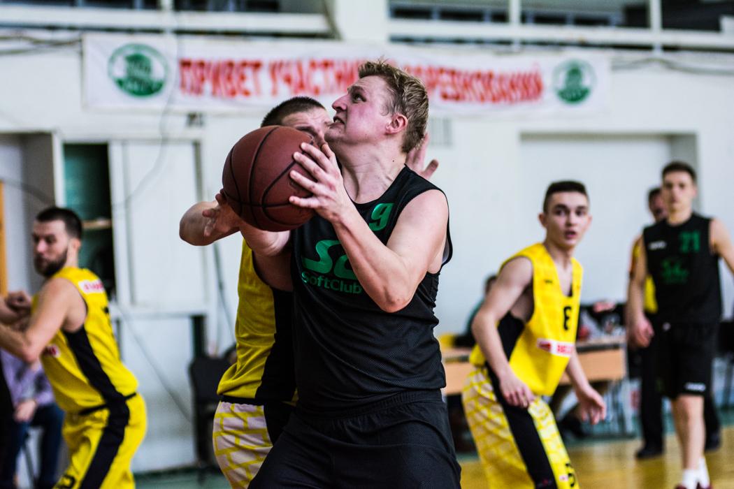 Софтклуб против БК «Бобруйск»: самая мощная концовка в матче минувшего уик-энда