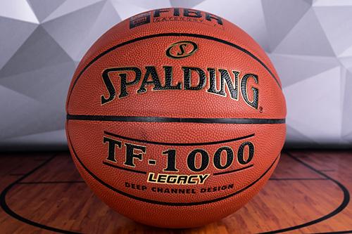 Официальный мяч XIII сезона НБЛ - Spalding TF1000 Legacy